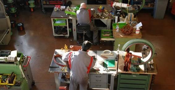atelier de obinage de moteurs électriques